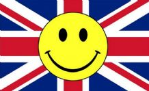 UNION JACK SMILEY - 5 X 3 FLAG